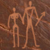 Mulder and Scully petroglyph